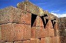 Pisac, an Inca fortress near Cuzco, Peru